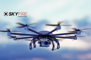 Skyfire Consulting Offers Drone Christmas Tree Ornament