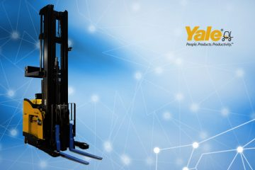 Yale Debuts Industry-First Dual-Mode Pantograph Robotic Reach Truck at Promat 2019