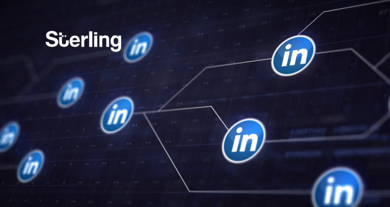 Sterling Announces Integration With LinkedIn Talent Hub