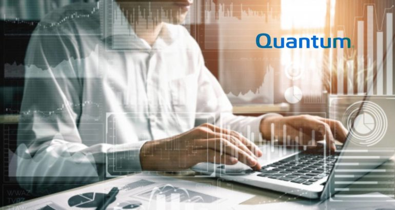 Quantum to Highlight Solutions for Remote Online Editing, Hybrid-Cloud Workflows, and Media Archives at VirtualQ NAB Event