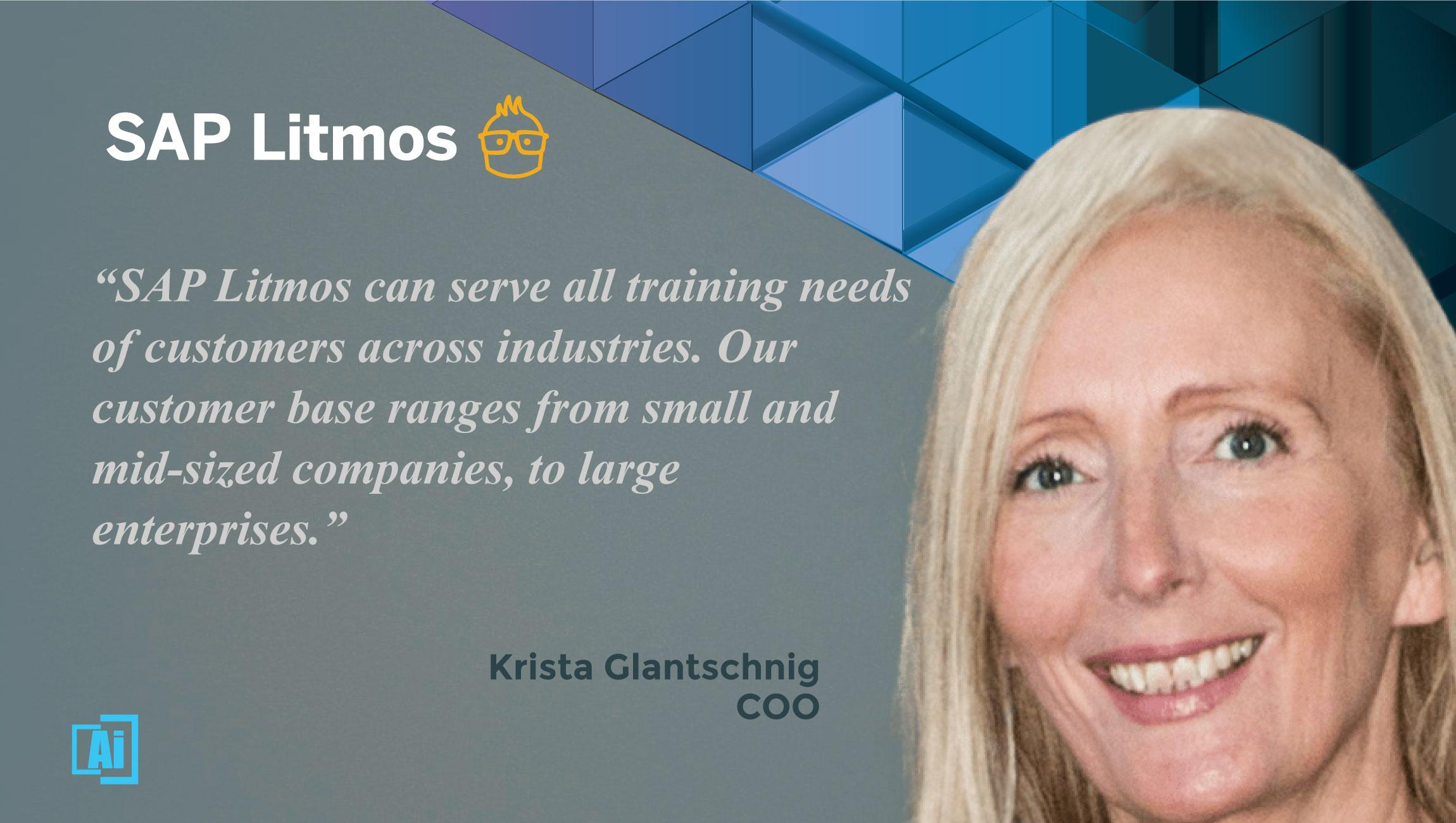 AiThority Interview With Krista Glantschnig, COO at SAP Litmos